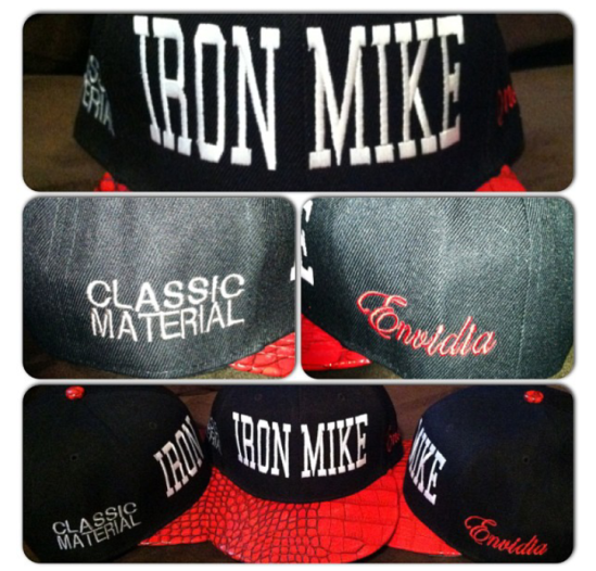 Classic Material /Envidia Colab Limited Edition Snap backs